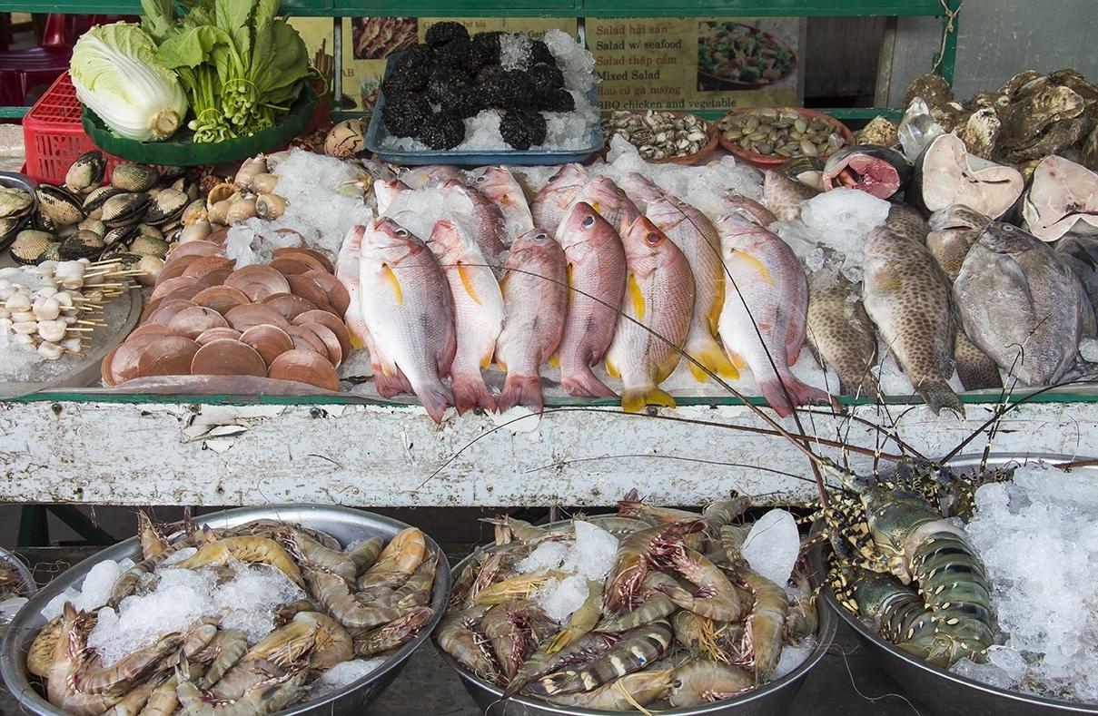 phu quoc island avondmarkt