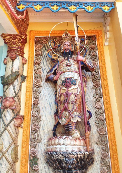 cao dai tempel detail