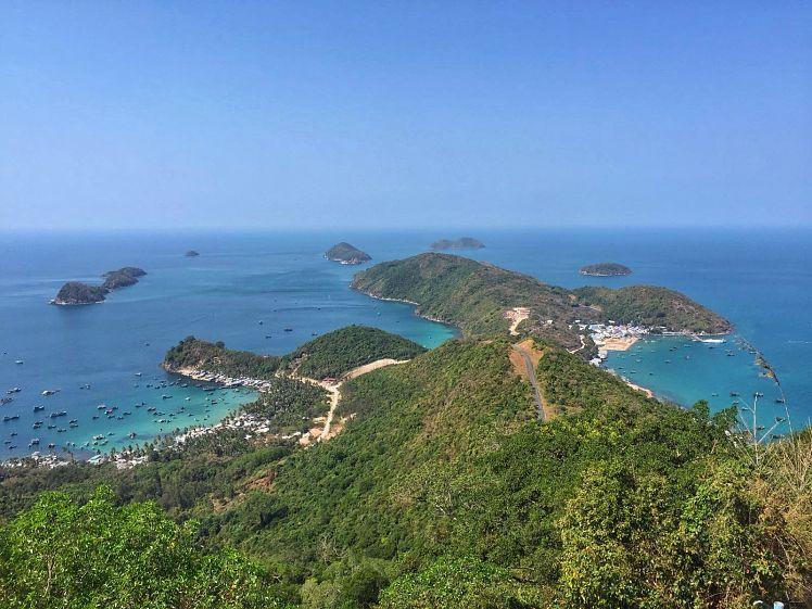 Nam Du eiland uitzicht