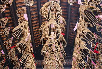 een pagode in Cho Lon Saigon