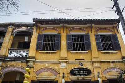 prachtige architectuur in Hoi An