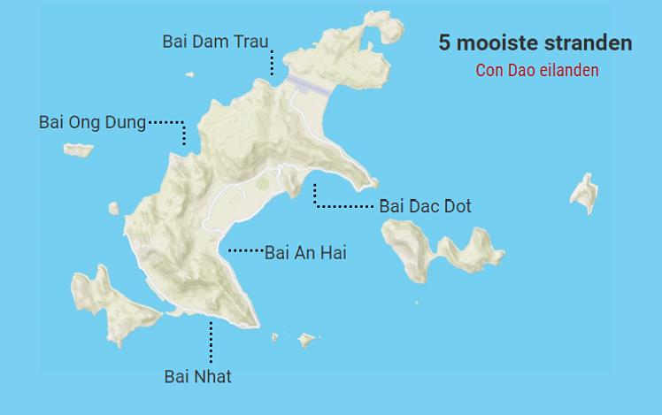 De beste stranden op de Con Dao eilanden