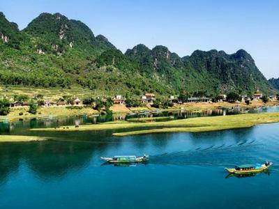 Phong Nha in Vietnam
