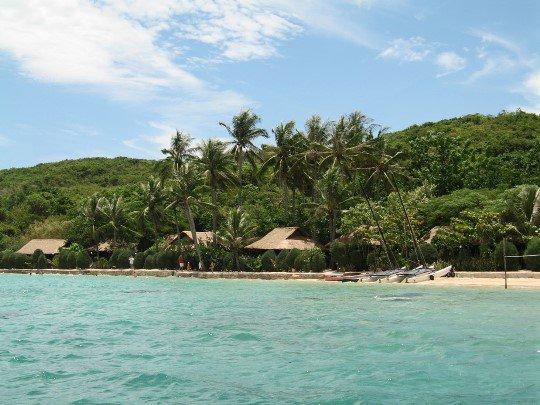 eiland rond Nha Trang
