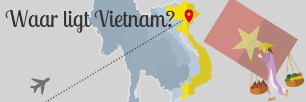 waar ligt Vietnam