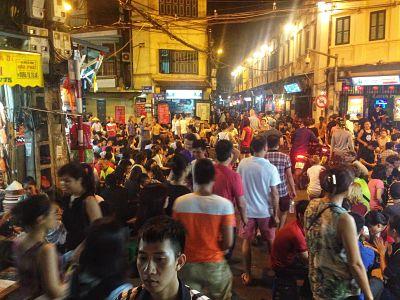 De Bia Hoi corner