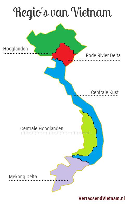 geografie Vietnam
