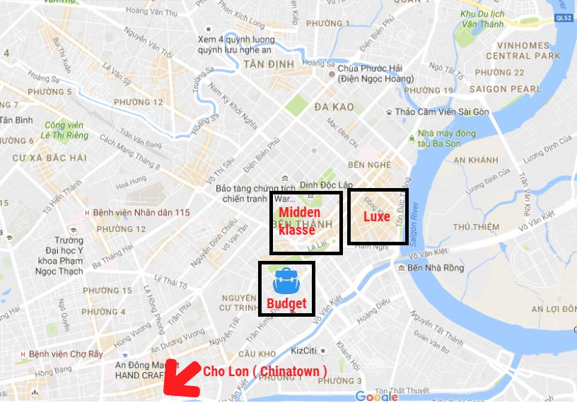 De beste wijken om een hotel te boeken in Ho Chi Minh Stad
