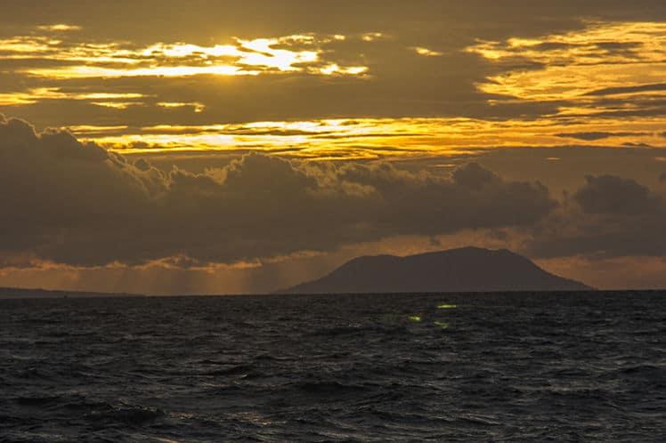 zonsondergang op Hai Tac eiland