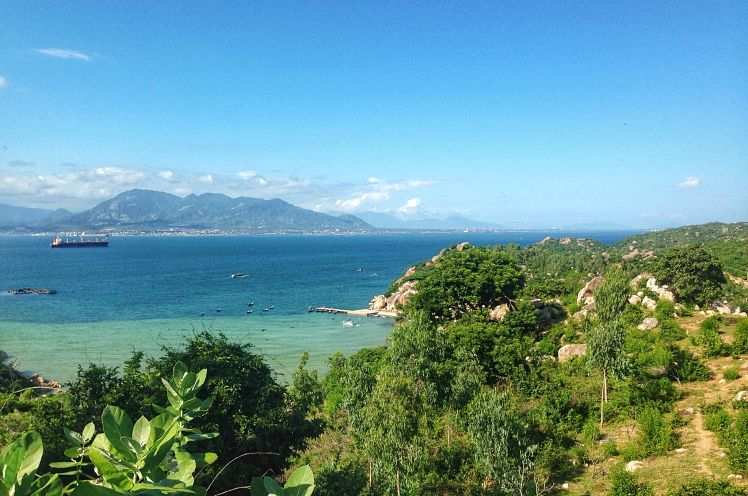 roadtrip in Ninh Thuan provincie