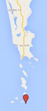 locatie fingernail island