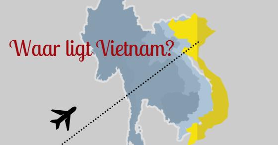 Ligging Vietnam