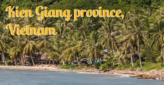 Kien Giang provincie in zuid Vietnam