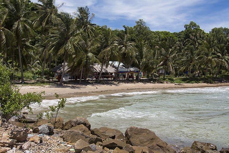 stranden in Kien Giang
