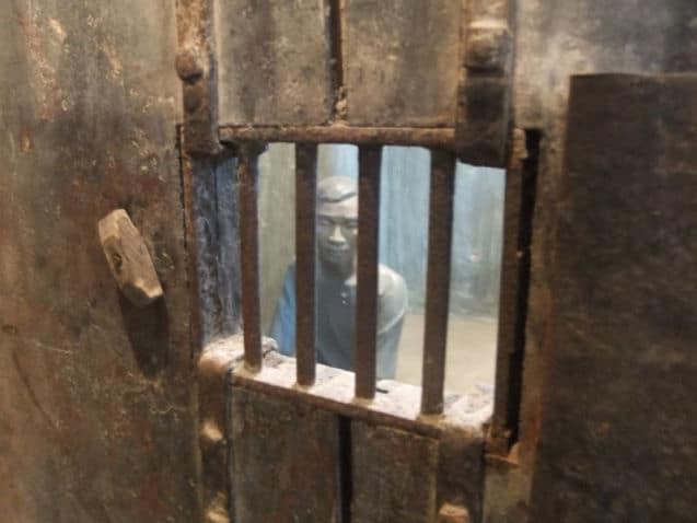 De Hoa Lo gevangenis in Hanoi