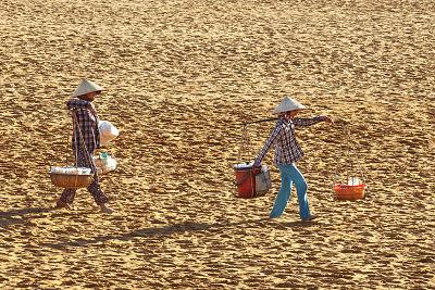 Zandduinen van Vietnam