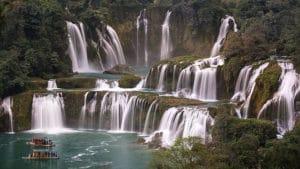 ban gioc watervallen in Vietnam