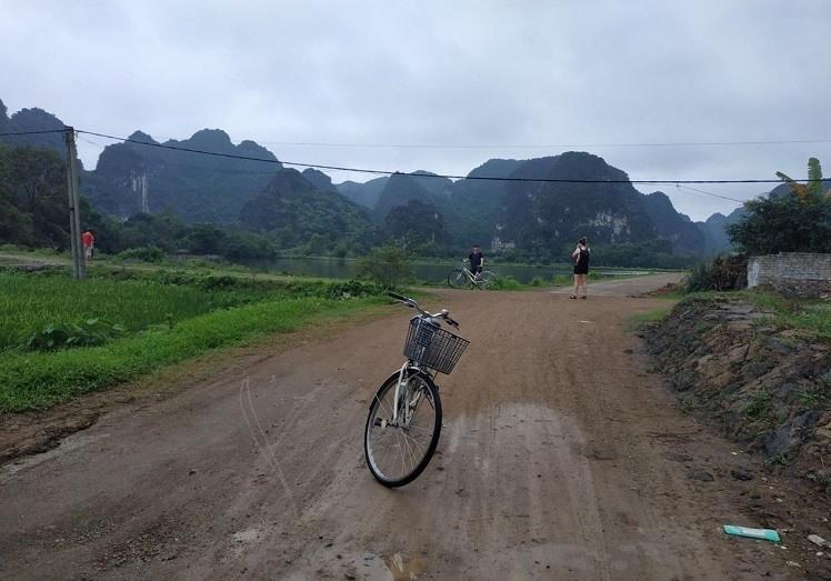 fietsen in tam coc