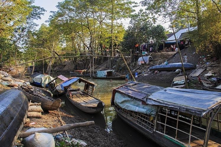 fietsen in de mekong delta