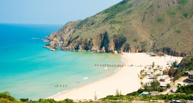 ky co beach in quy nhon
