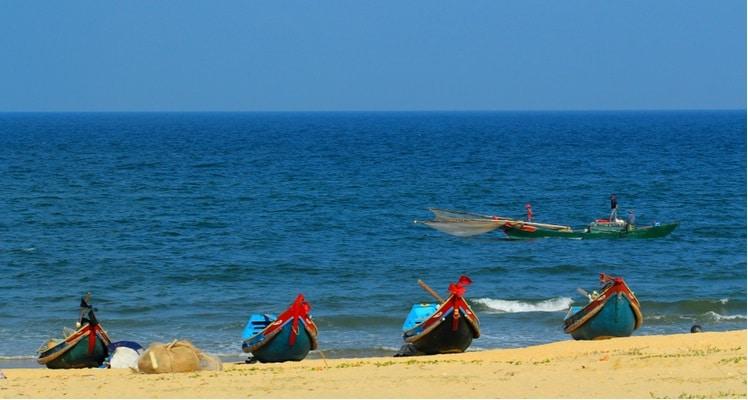 Het strand van dong hoi