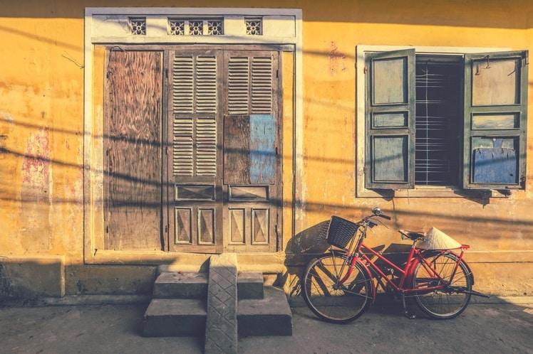 Fietsen in Hoi An is leuk
